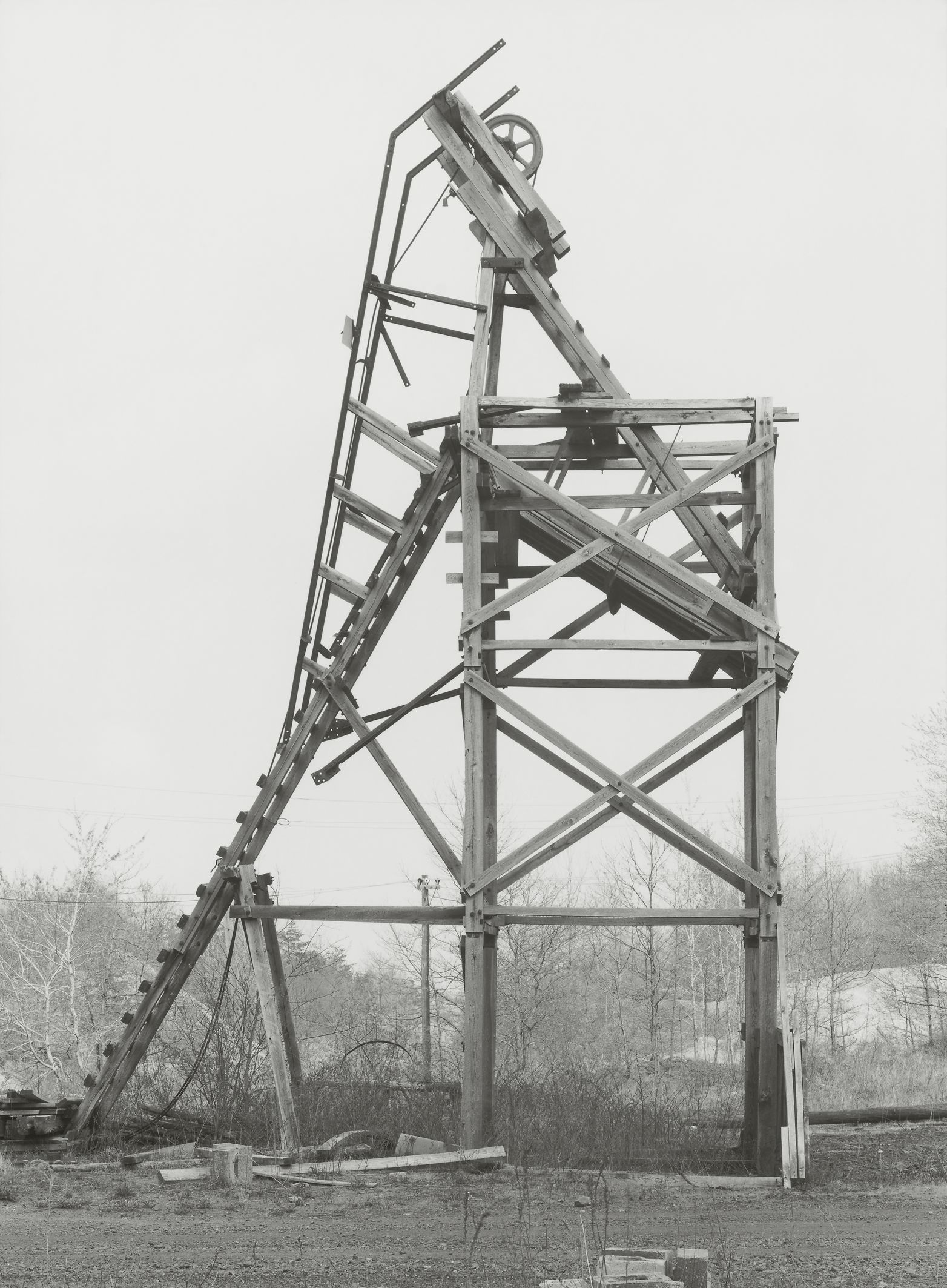 Bernd & Hilla Becher: Reed & Herb Coal Co., Joliett, Schuylkill County, 1975 © Estate Bernd & Hilla Becher, represented by Max Becher